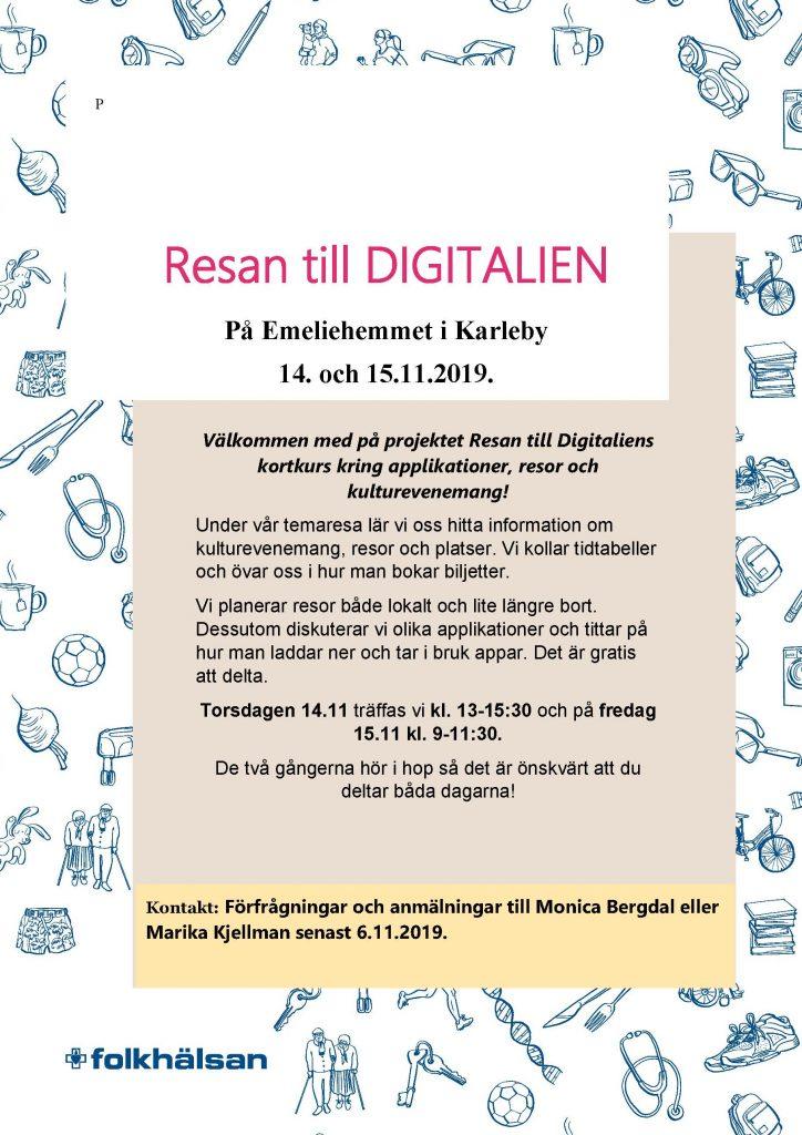 Resan till Digitalien 14-15.11